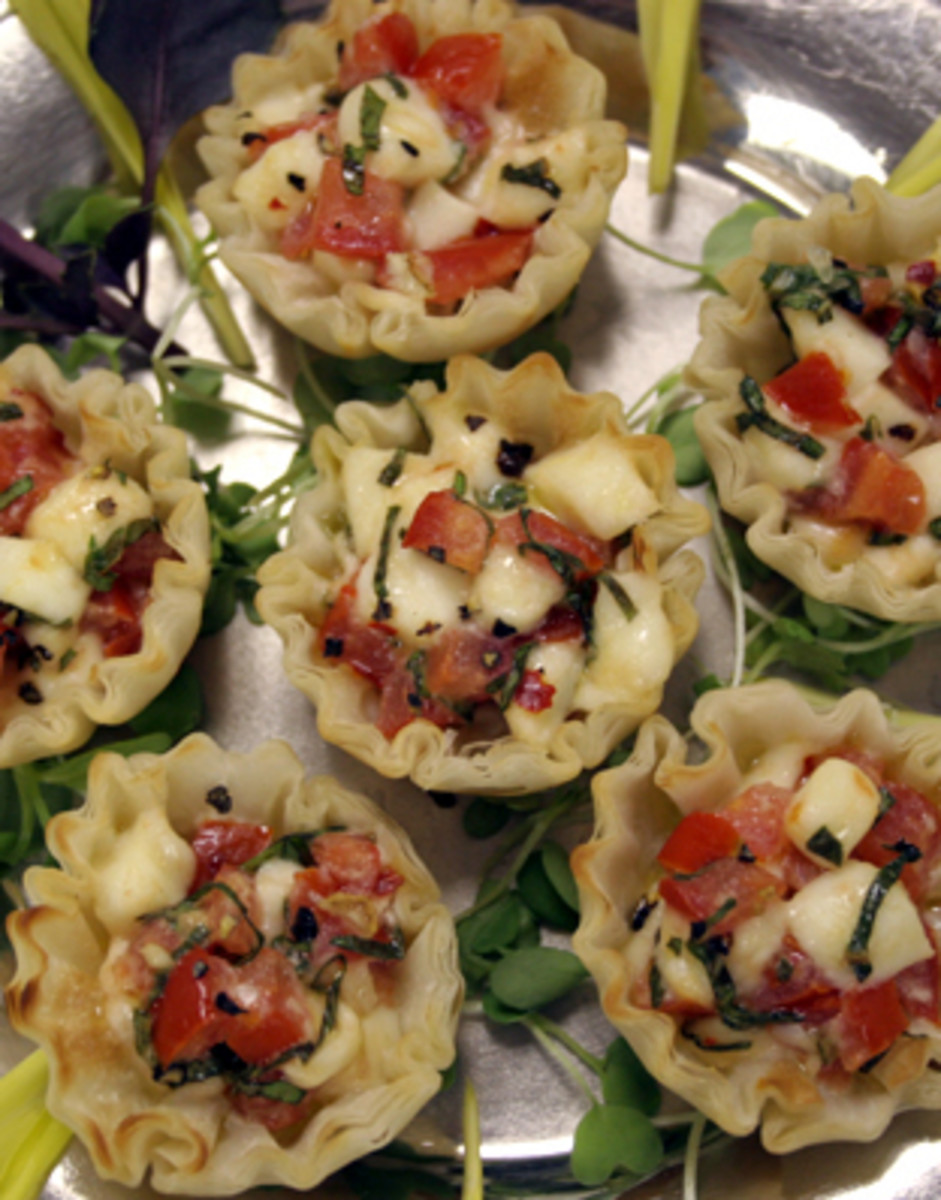Great food makes for a great wedding reception!