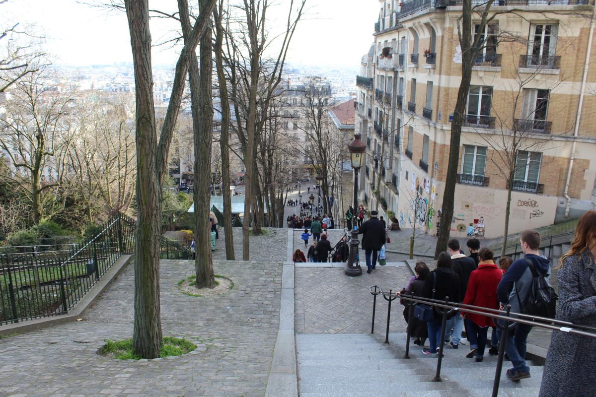 Rue Foyatier, Paris.