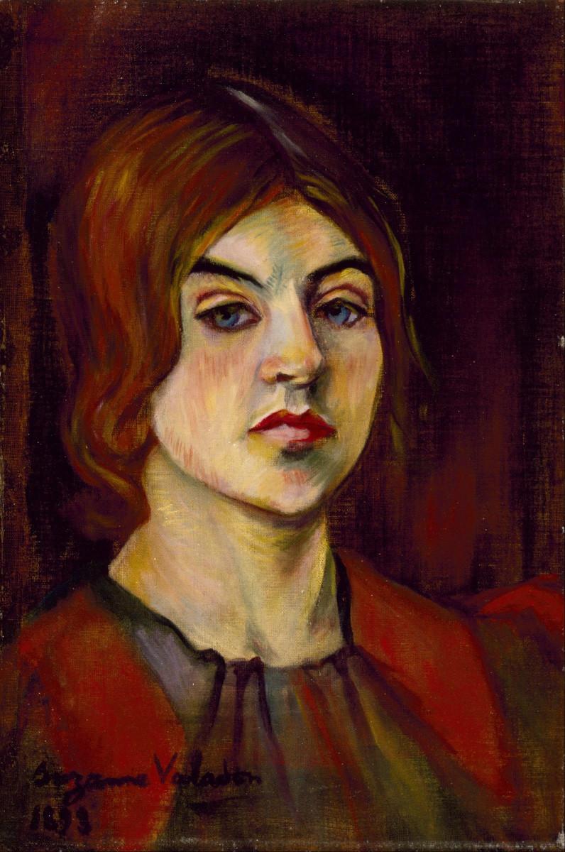 Suzanne Valadon, Self-Portrait, 1893