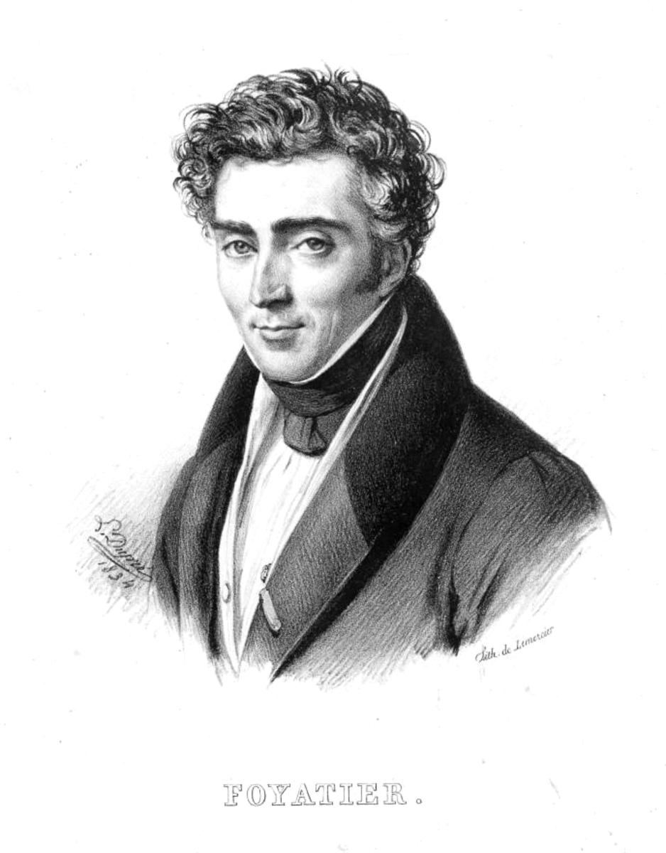 Portrait of Denis Foyatier by Dupré L.