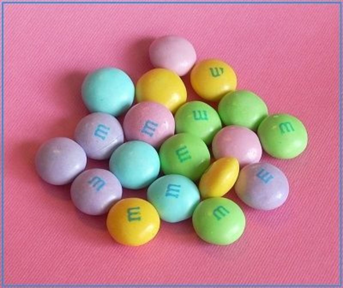Spring Bunny Mix Light Colors Easter M&M's