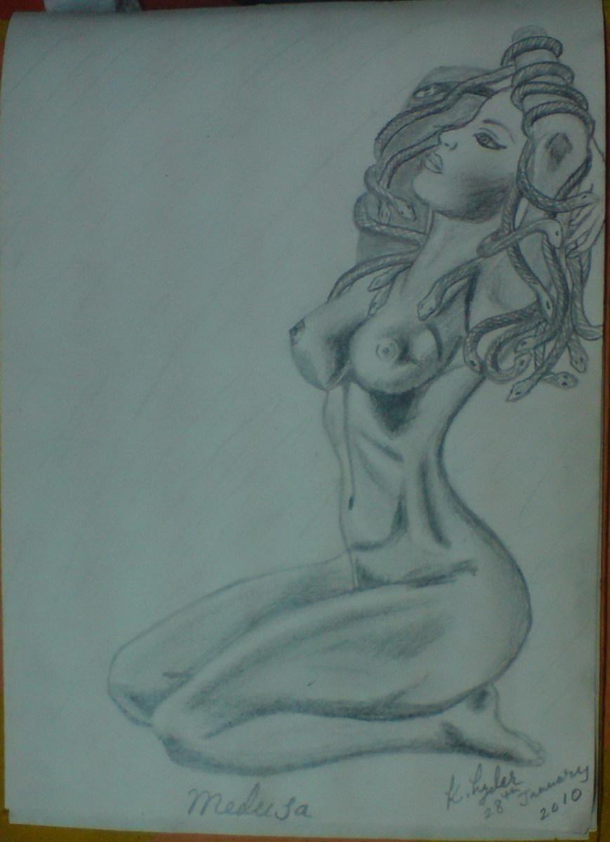 Finished Medusa