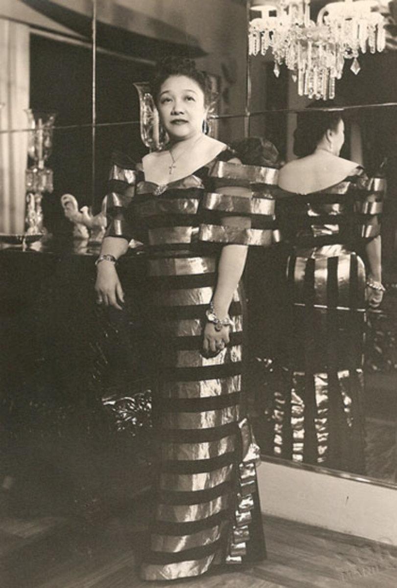 Amparing Arguelles de Villa late 1950s