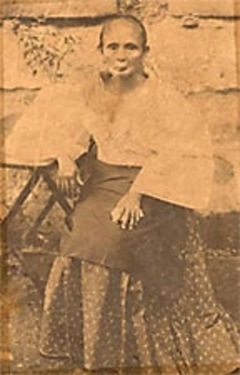 My great grandmother on my father, Ramon Arguelles Limjoco's side.