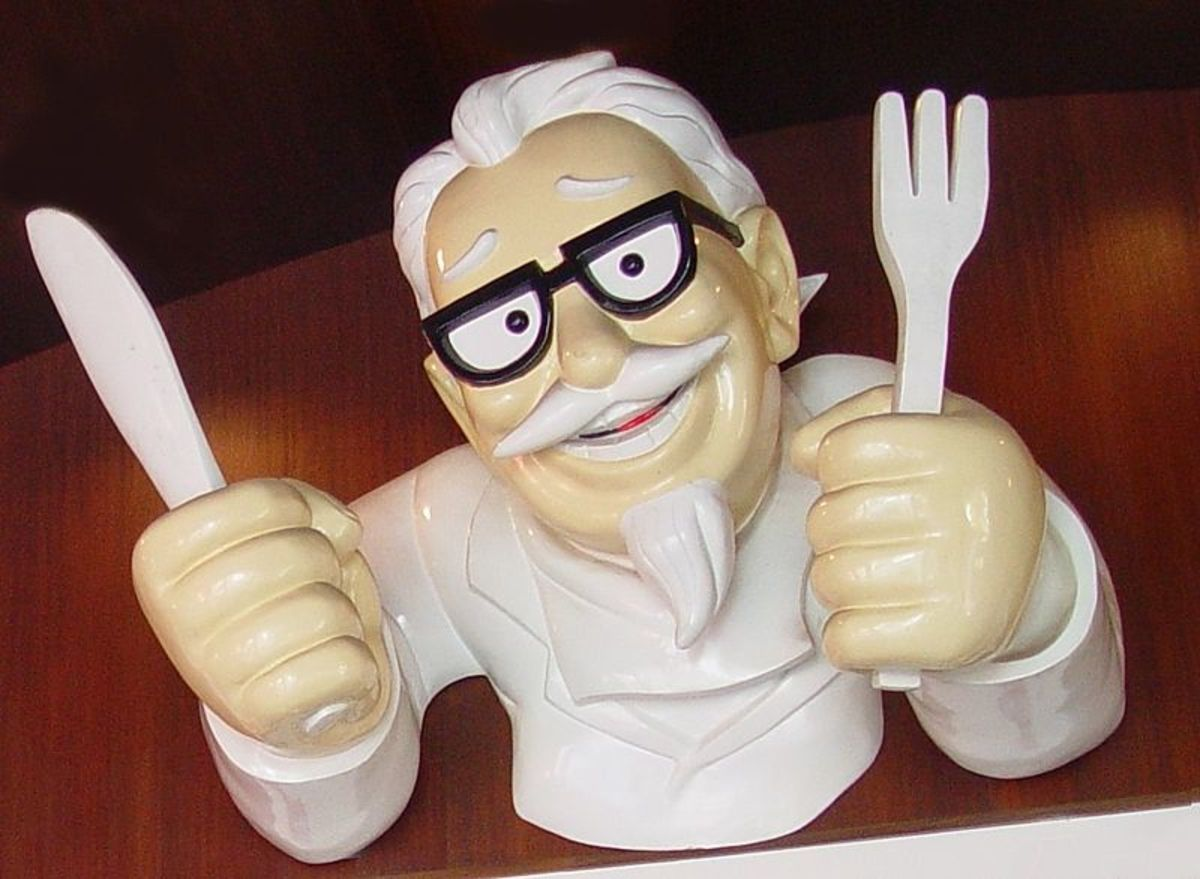Statue of Col Harland Sanders (KFC Founder)