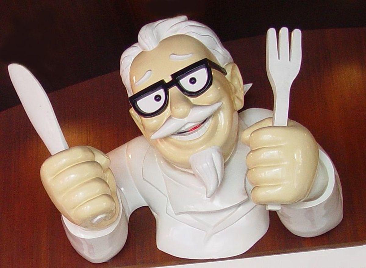 Statue of Col Harland Sanders (KFC Founder)