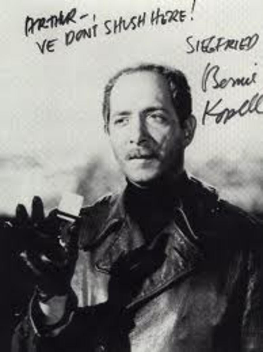 Konrad Siegfried or simply Siegfried (Bernie Kopell).