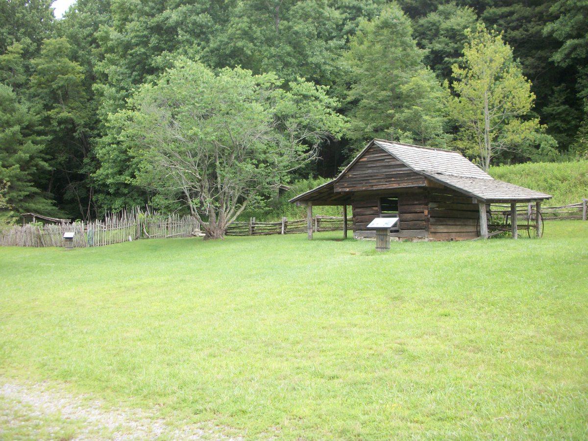 Hutchinson Homestead Ruins Stone Mountain State Park Roaring Gap, NC