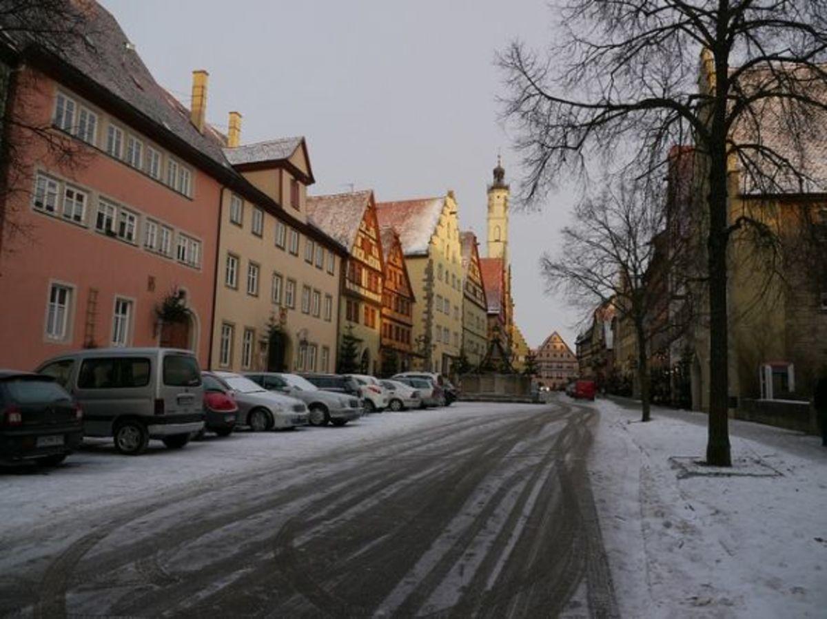 Rothenburg, Germany Christmas