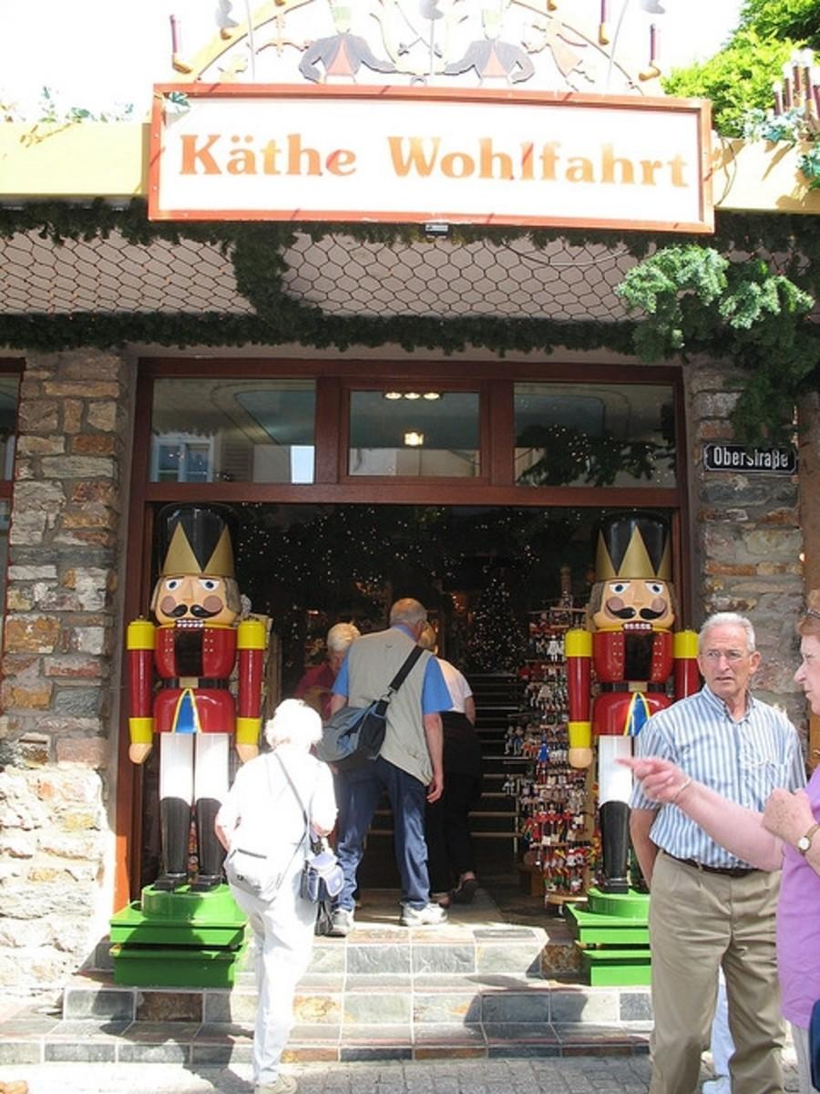 Rothenburg, Germany - Kathe Wohlfahrt Christmas Store