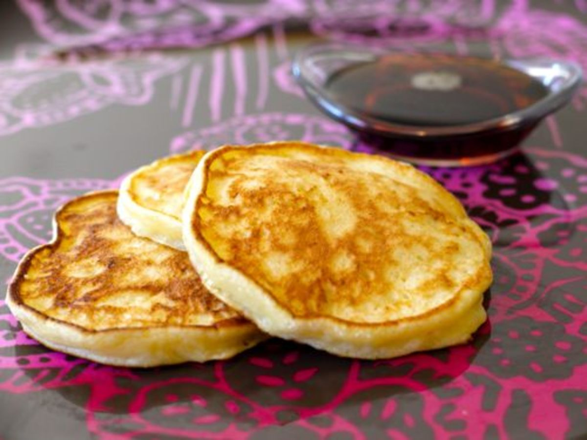 Cottage Cheese Pancakes- Simple and Fast!