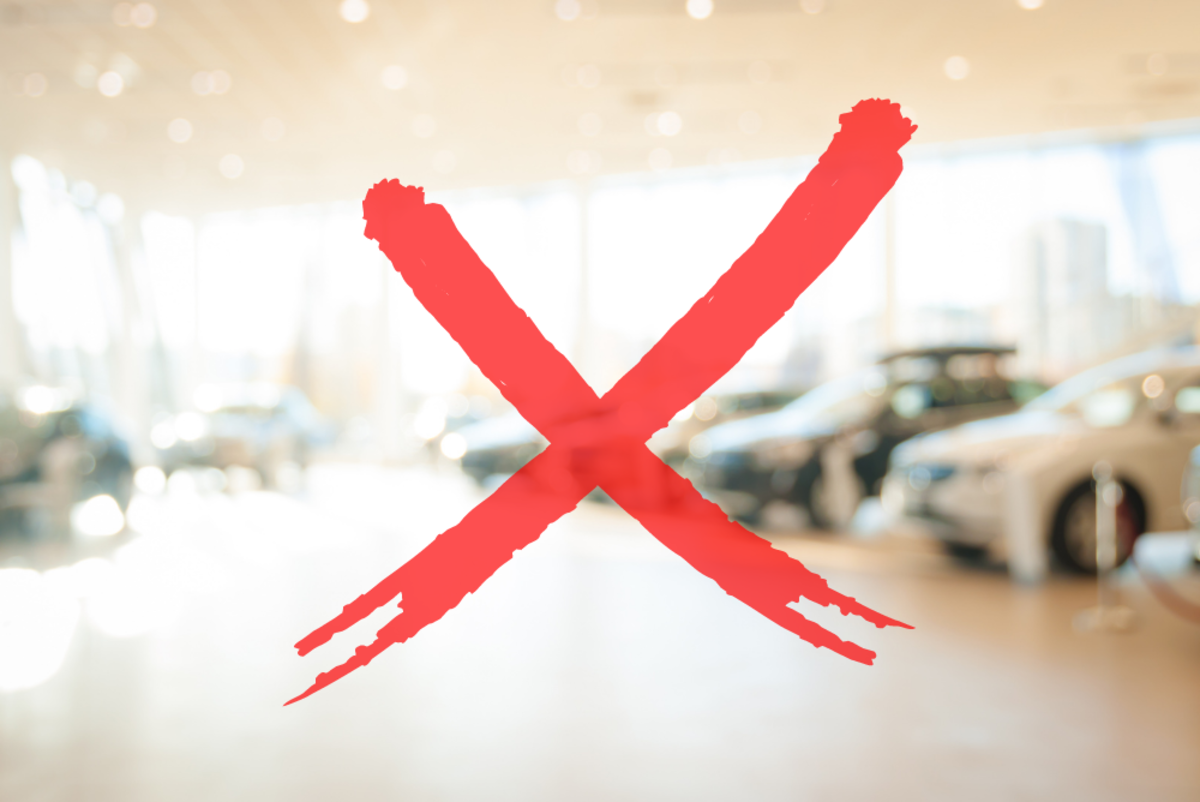 7 Reasons Why You Shouldn't Buy a Car From A Dealership