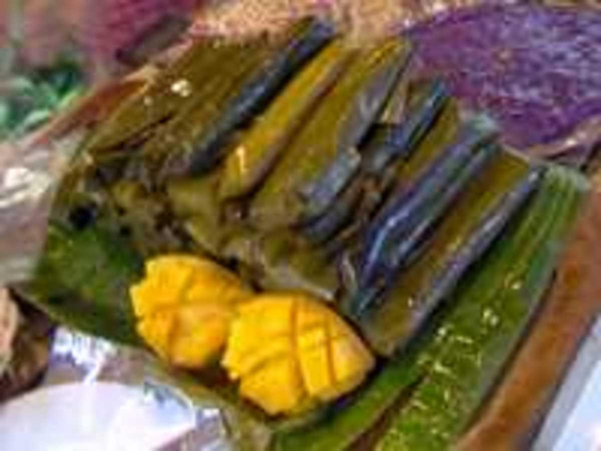 Kakanin, suman and many other treats.
