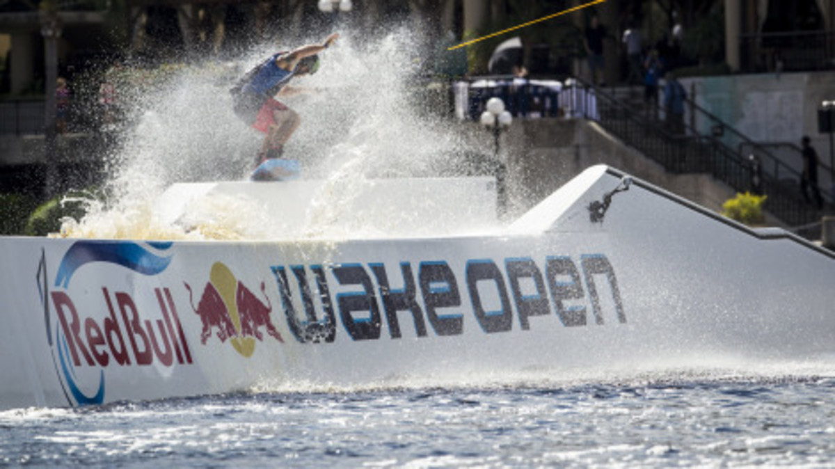 """SOURCE:  """"Wakeboarding: Highlights from the RedBull Wake Open in Florida""""  (2012)"""