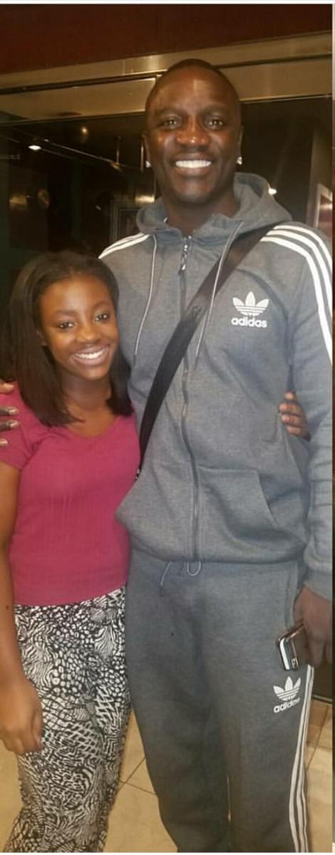 Kimani with Akon