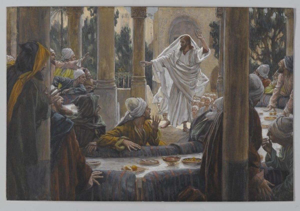 Brooklyn Museum - Curses Against the Pharisees