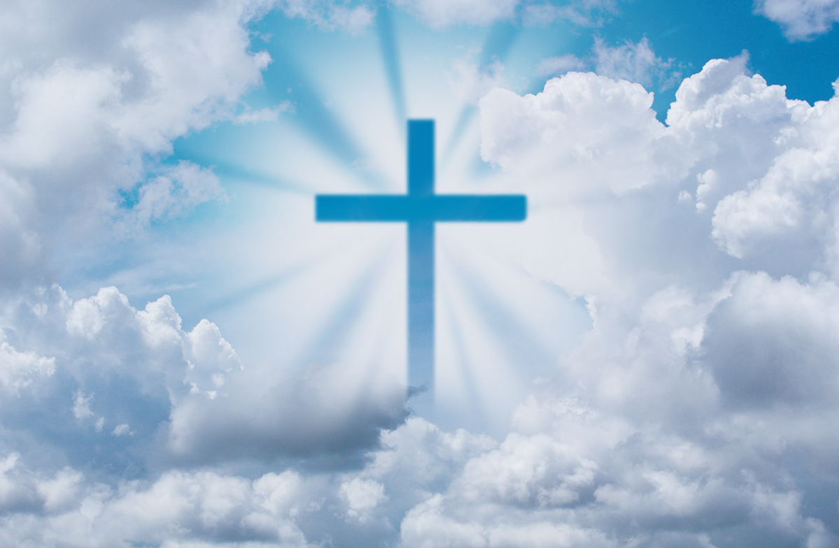 The Cross in the Clouds.