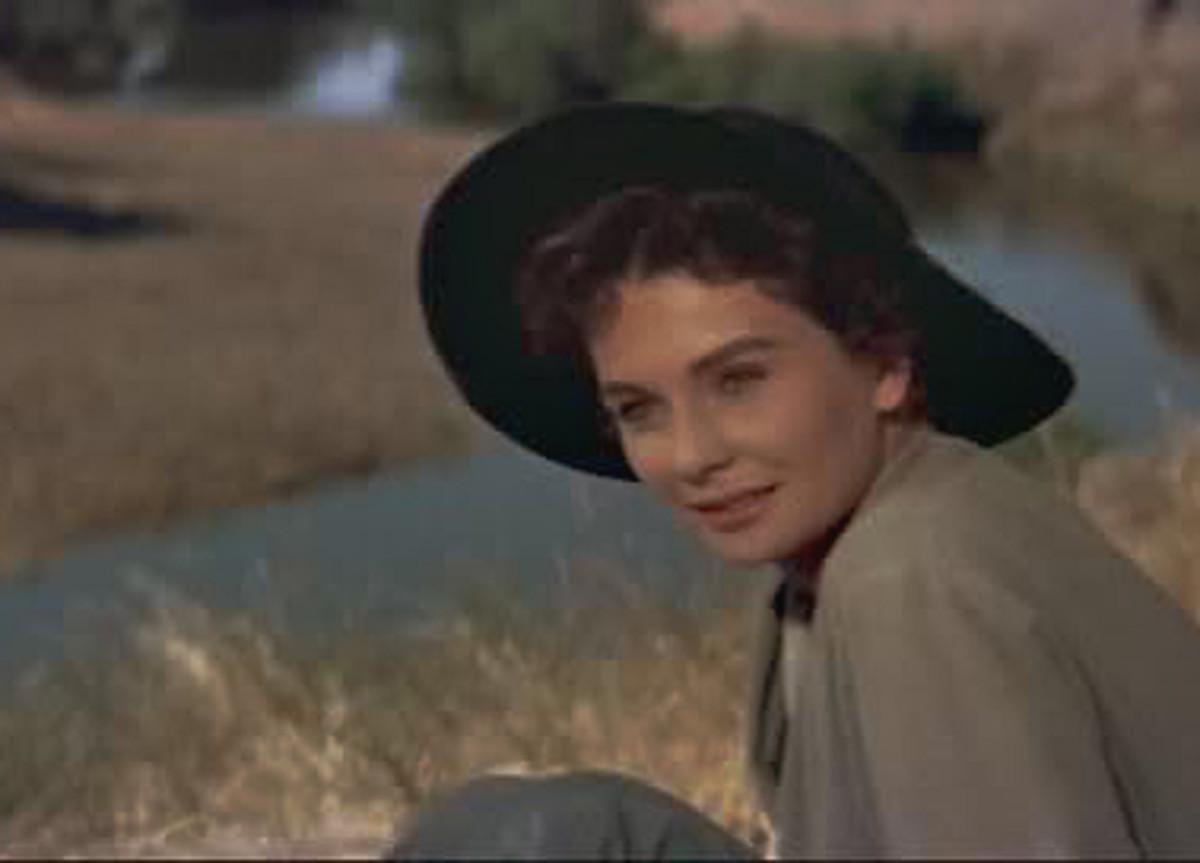 Jean Simmons plays Julie Maragon