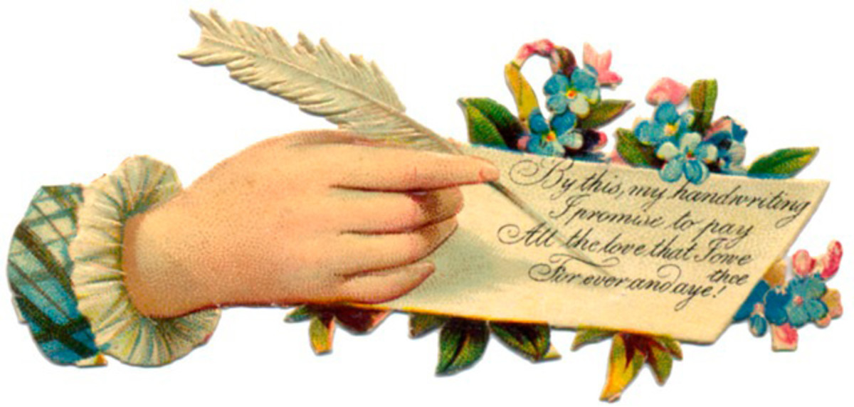 A handwritten note or poem is a great personal touch with flower bouquets.