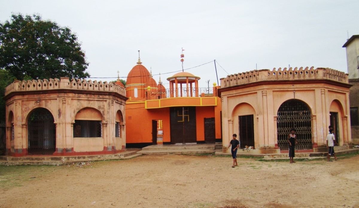 The temples of Ukhra, West Bengal