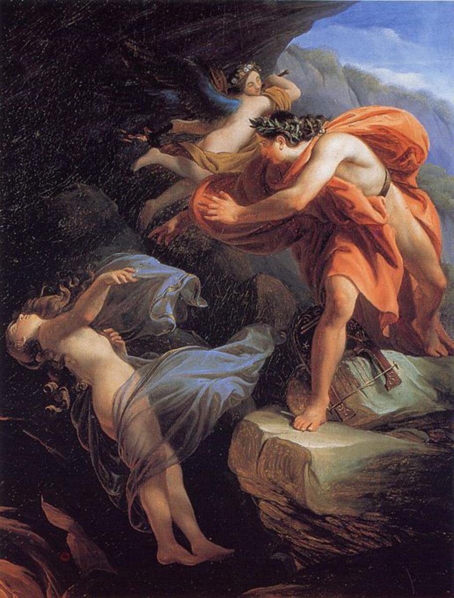 Eurydice returned to the Underworld