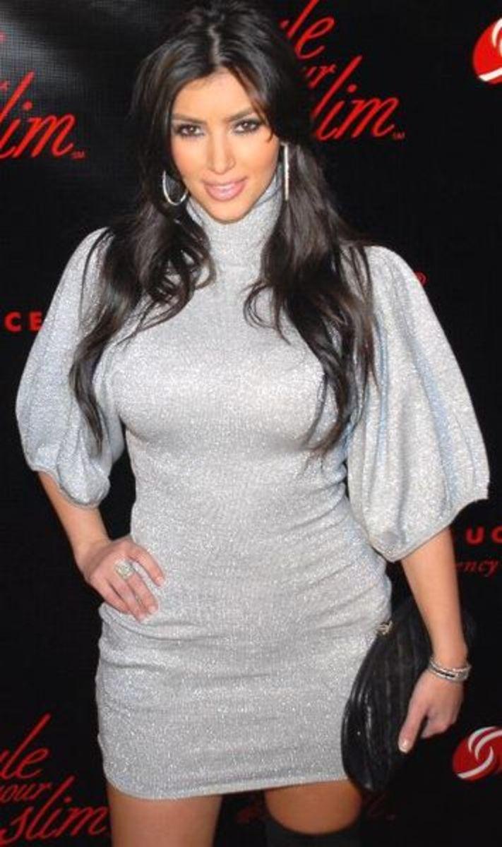 Kim Kardashian's Height, Weight, and Dress, Size