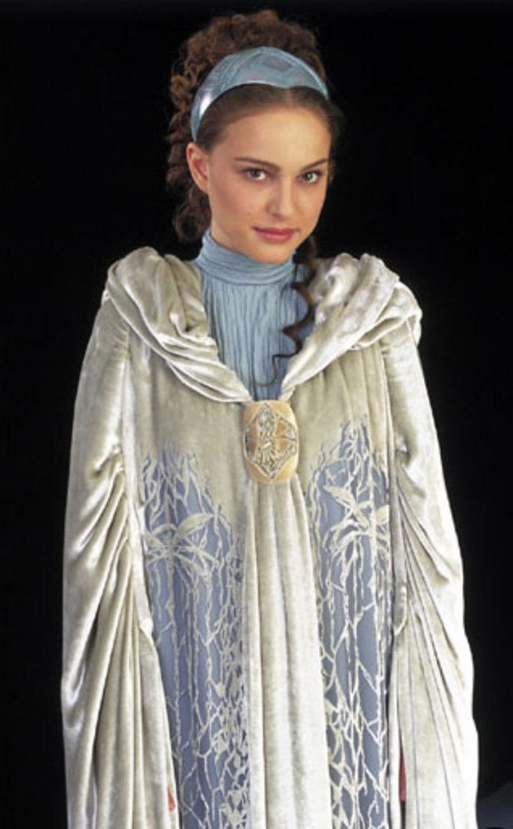 Natalie Portman as Padme Amidala from Episode II