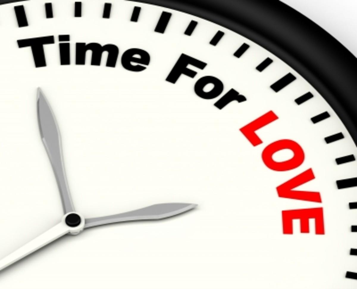 """""""Love is patient, love is kind .... love never fails (1 Corinthians 13: 4, 8)."""