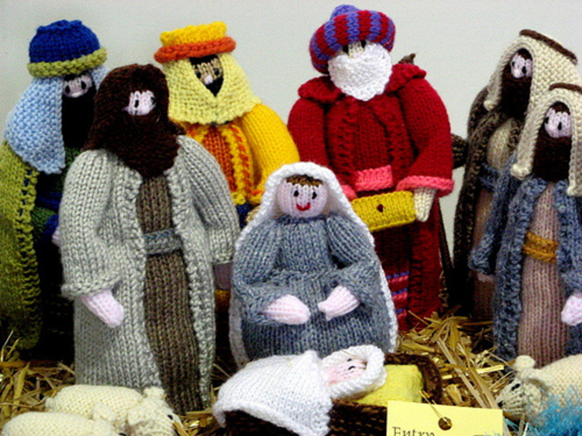 Knitted Nativity Patterns
