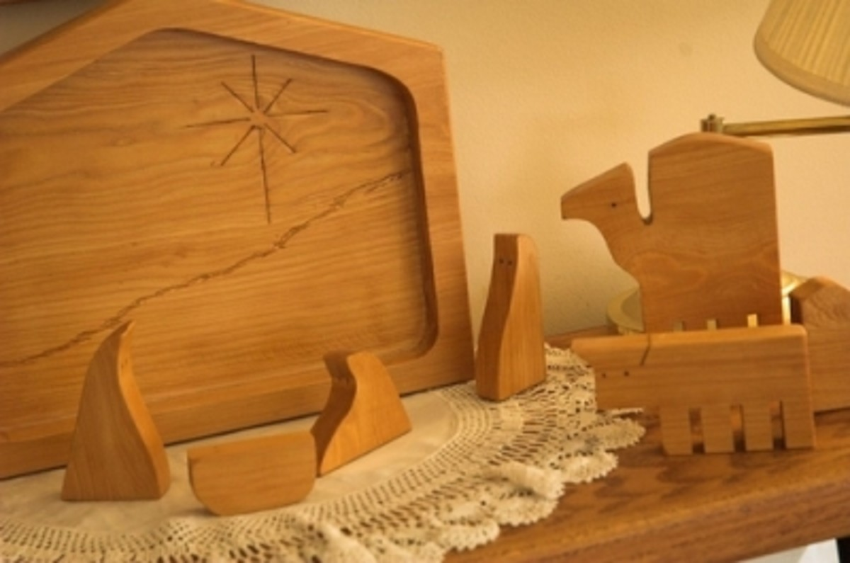 Wood Nativity Craft