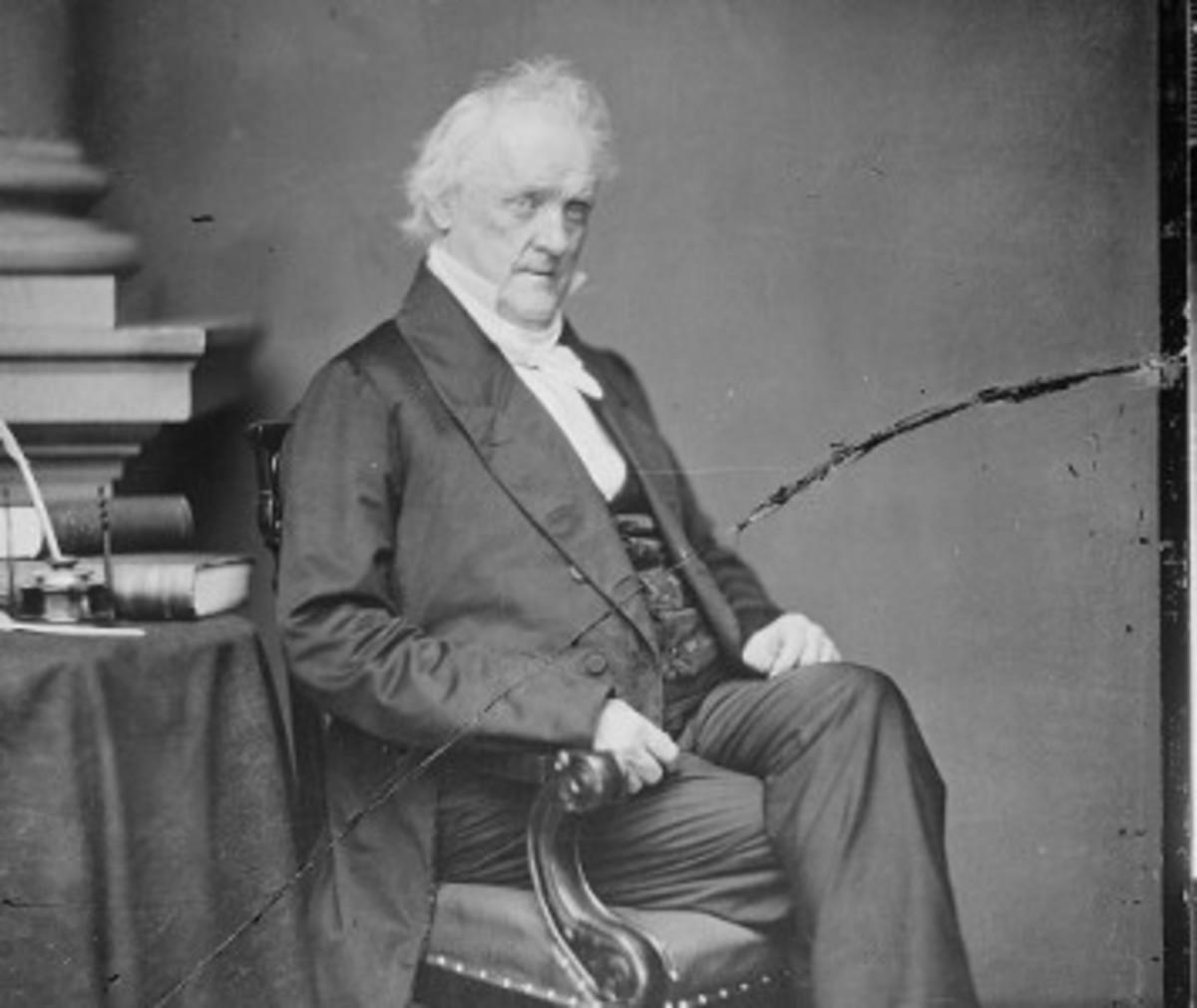 James Buchanan, The Worst President Ever