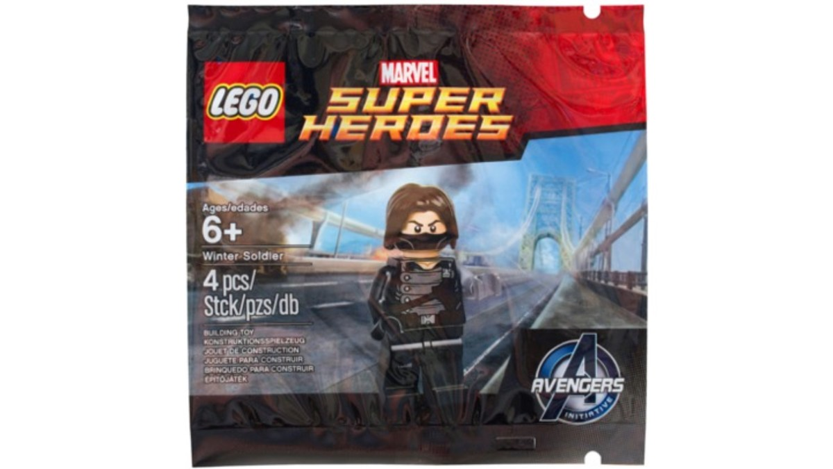 LEGO Marvel Super Heroes Winter Soldier Polybag 5002943 Review