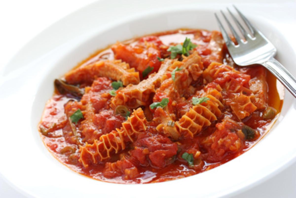 Trippa alla fiorentina (Italian cuisine) Image: © uckyo - Fotolia.com