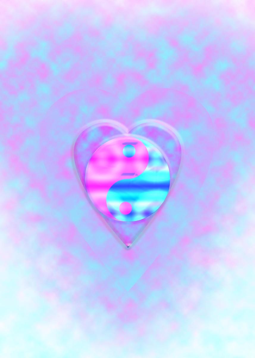 Yin Yang Heart One