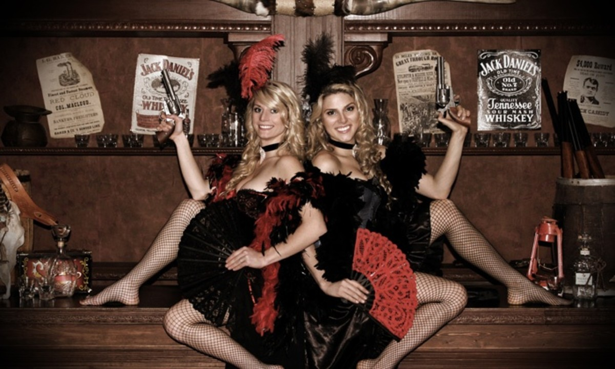 In Today's Tourist Trade, Saloons With Talented Saloon Girls Make Good Money.