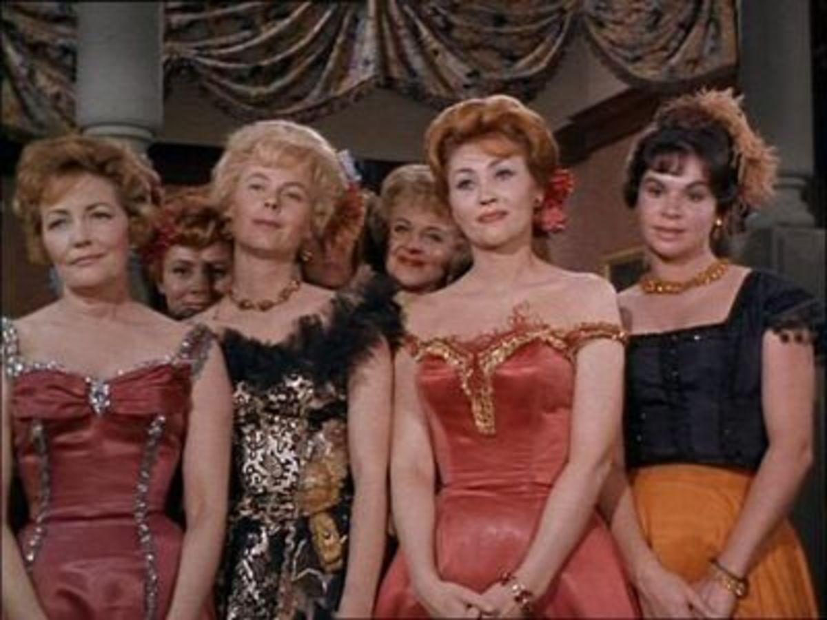 Professional Saloon Girls.