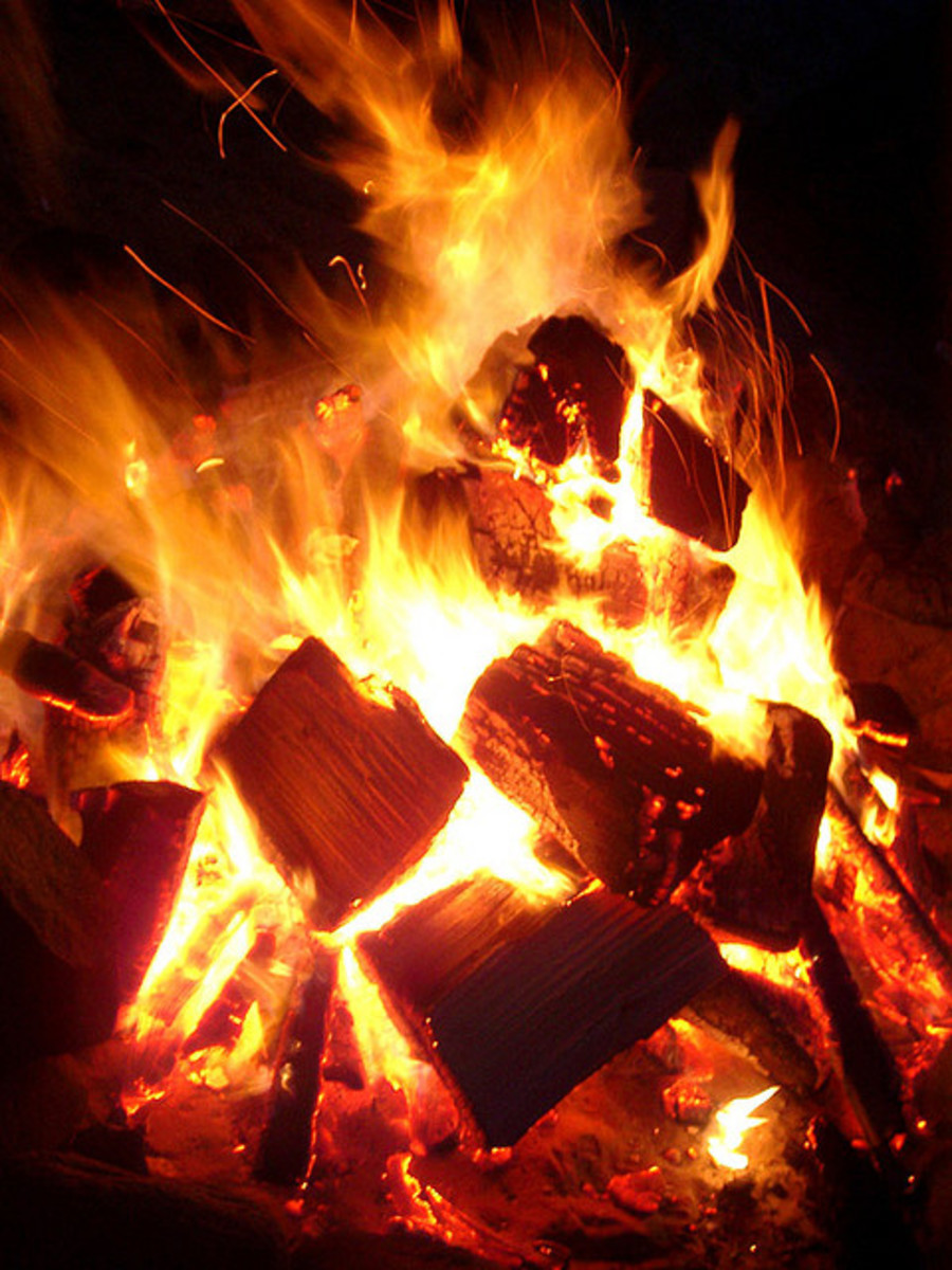 Firewalk:  A Poem