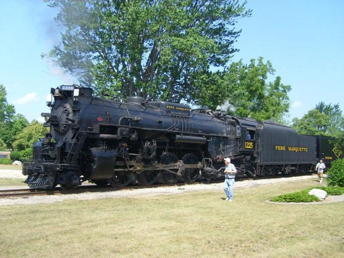 Locomotive that was the basis for the Polar Express train.