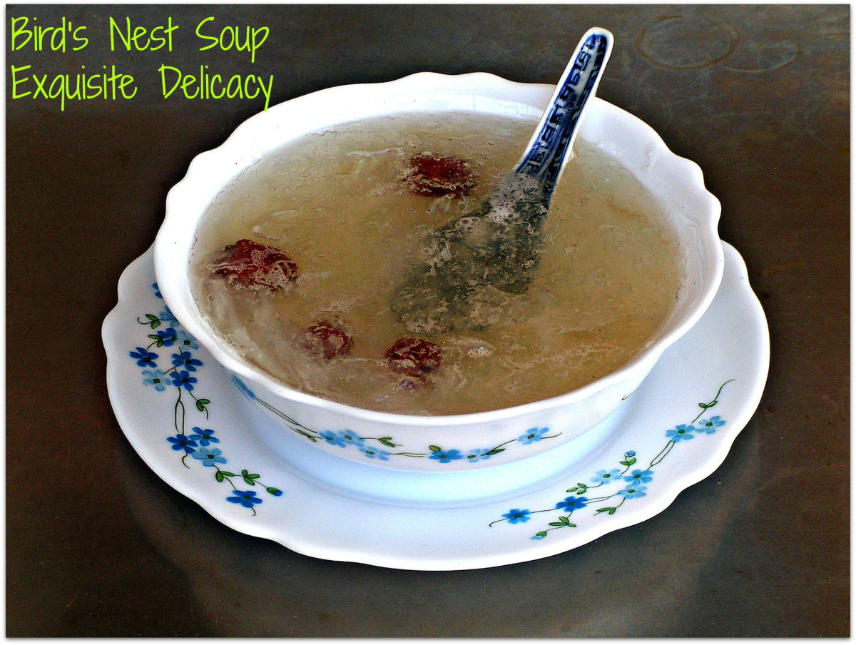 Bird's Nest Soup : An Expensive And Exquisite Delicacy