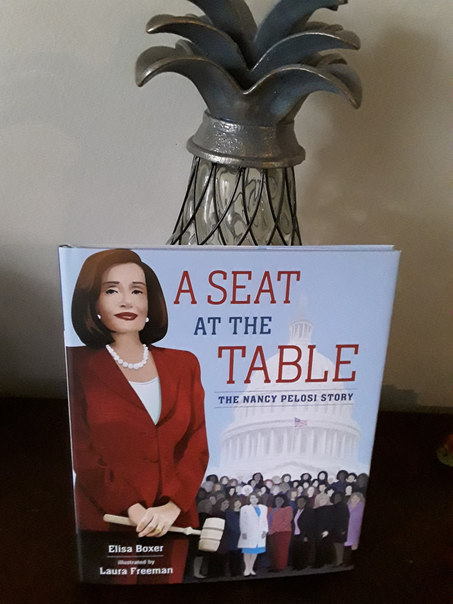 The Story of Nancy Pelosi in Children's Picture Book Encourages Leadership for Young Girls