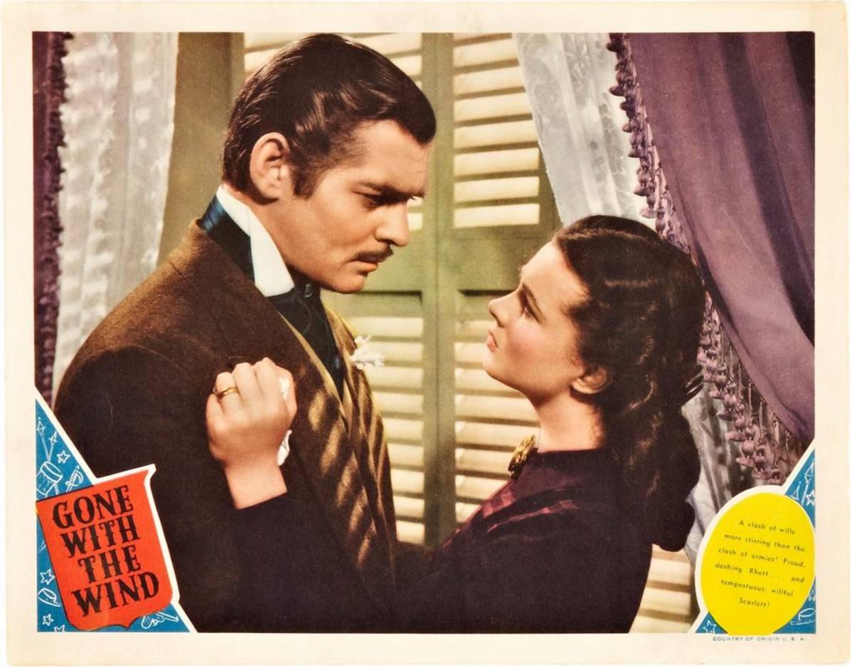 Clark Gable with Vivien Leigh