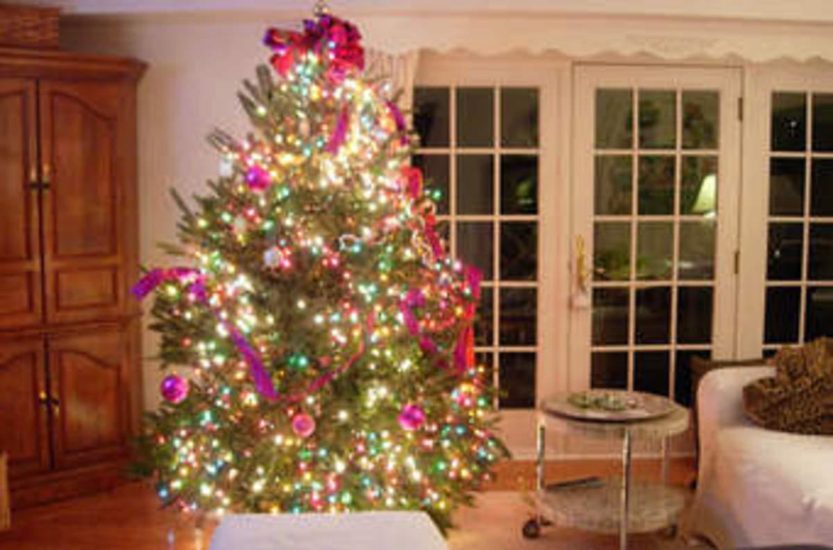 Today at Christmas most people have a Christmas tree, where they put present under, and they make believe to their children that Father Christmas put them there.