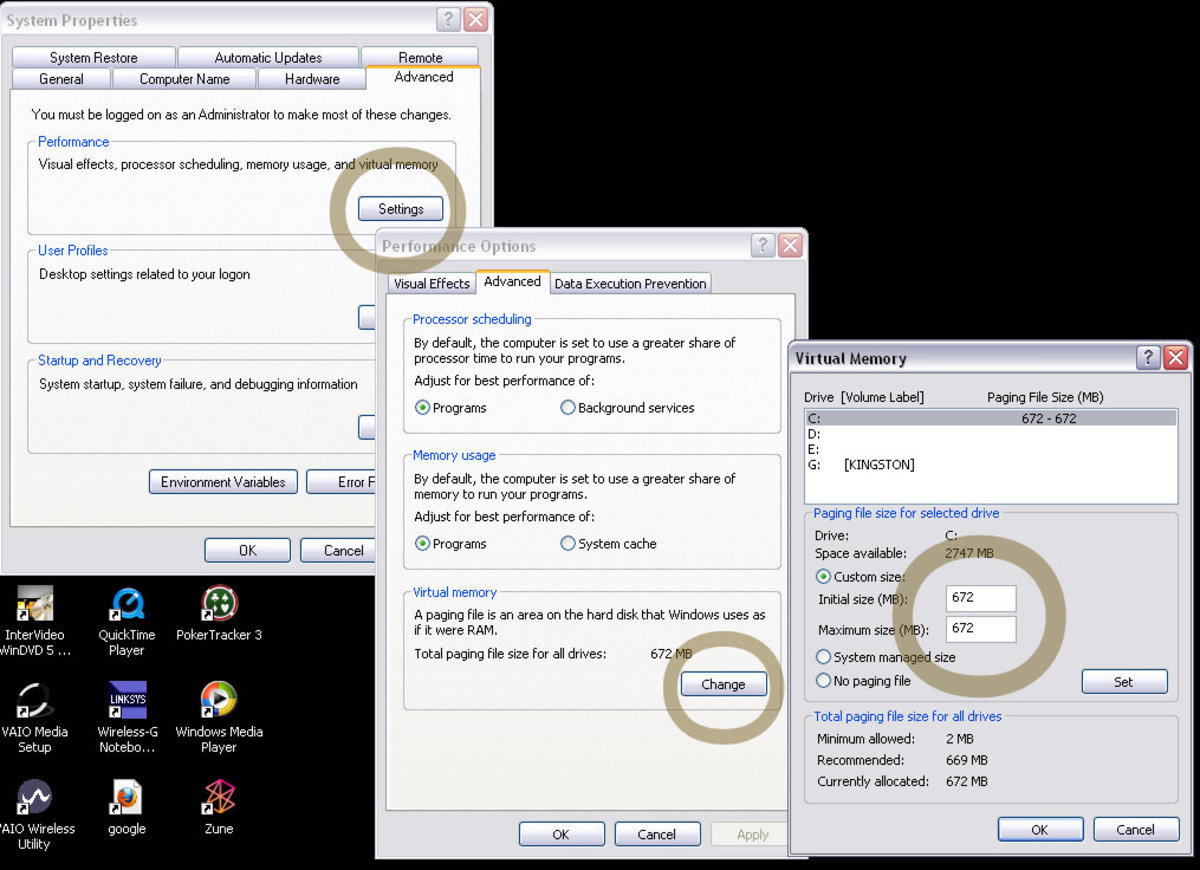 Optimize Your Virtual Memory Pagefile Size