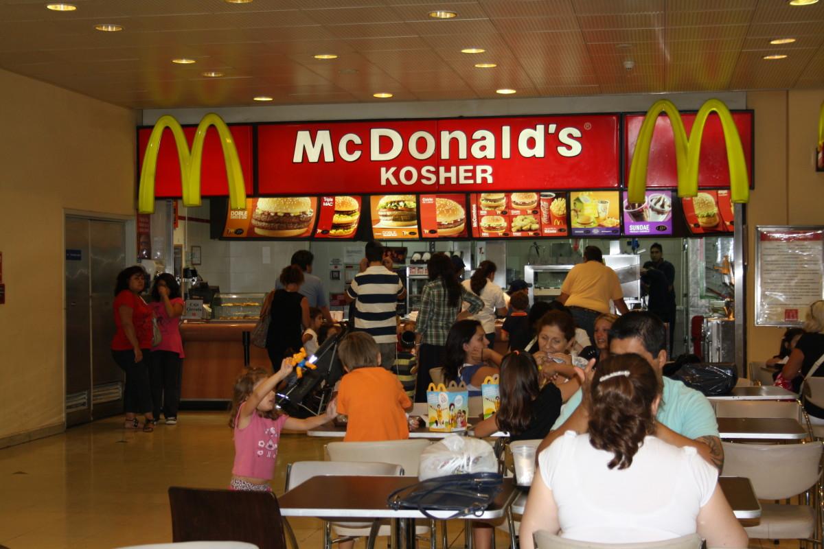 Kosher McDonald's, Beunos Aires, Argentina