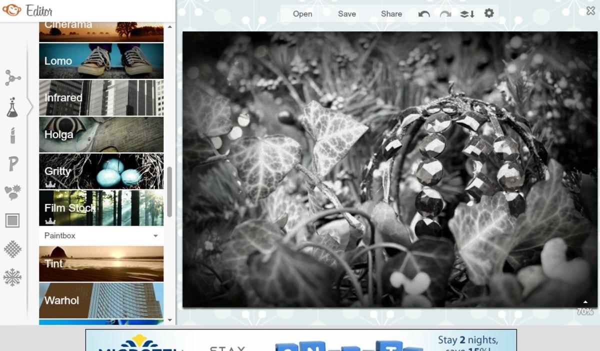 Screenshot of Picmokey tools