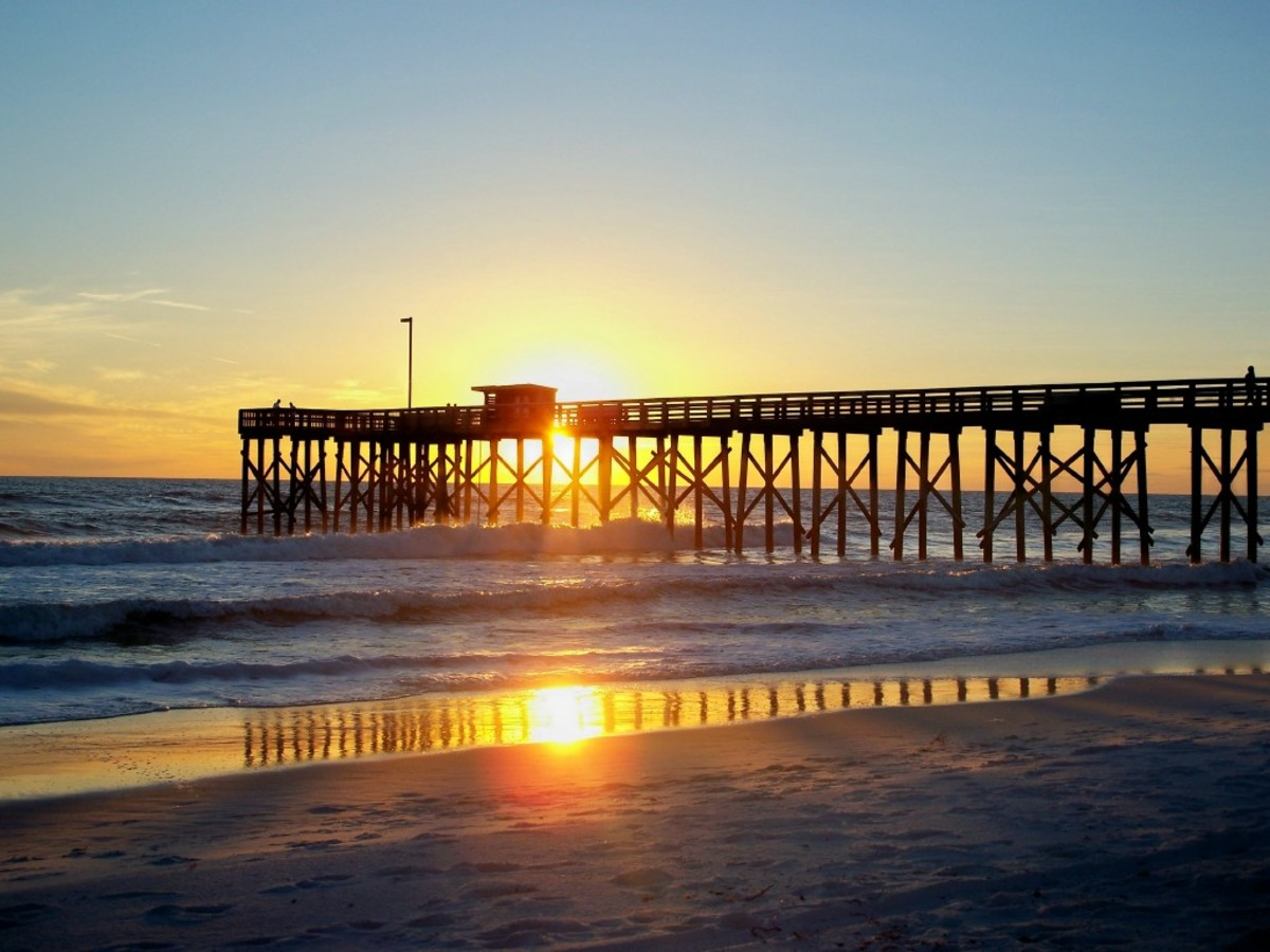 Rving across the florida panhandle for Panama city fishing pier