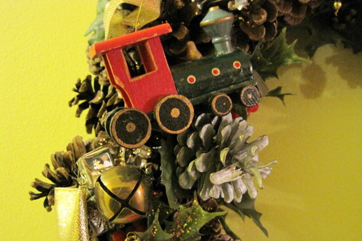 Christmas Wreath (detail)