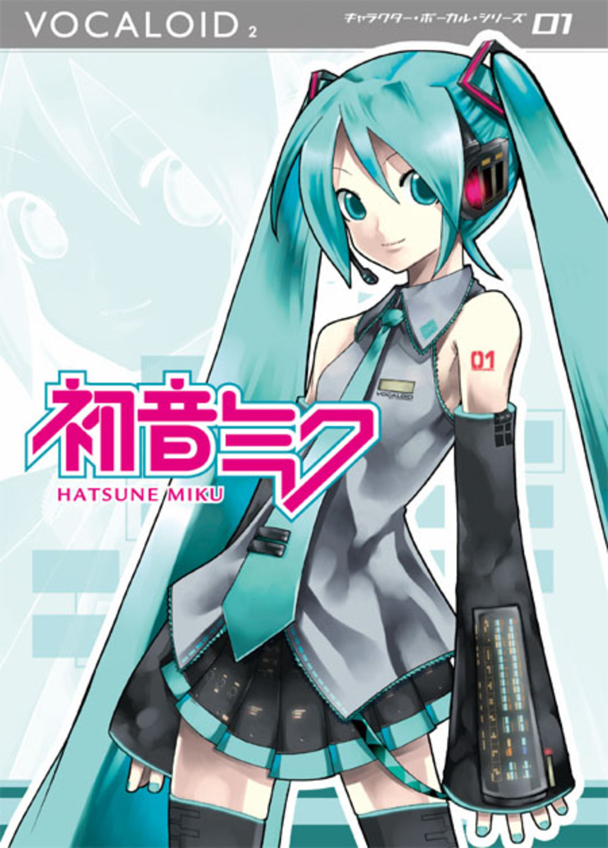 The software case for Miku Hatsune (powered by Yamaha's Vocaloid2)