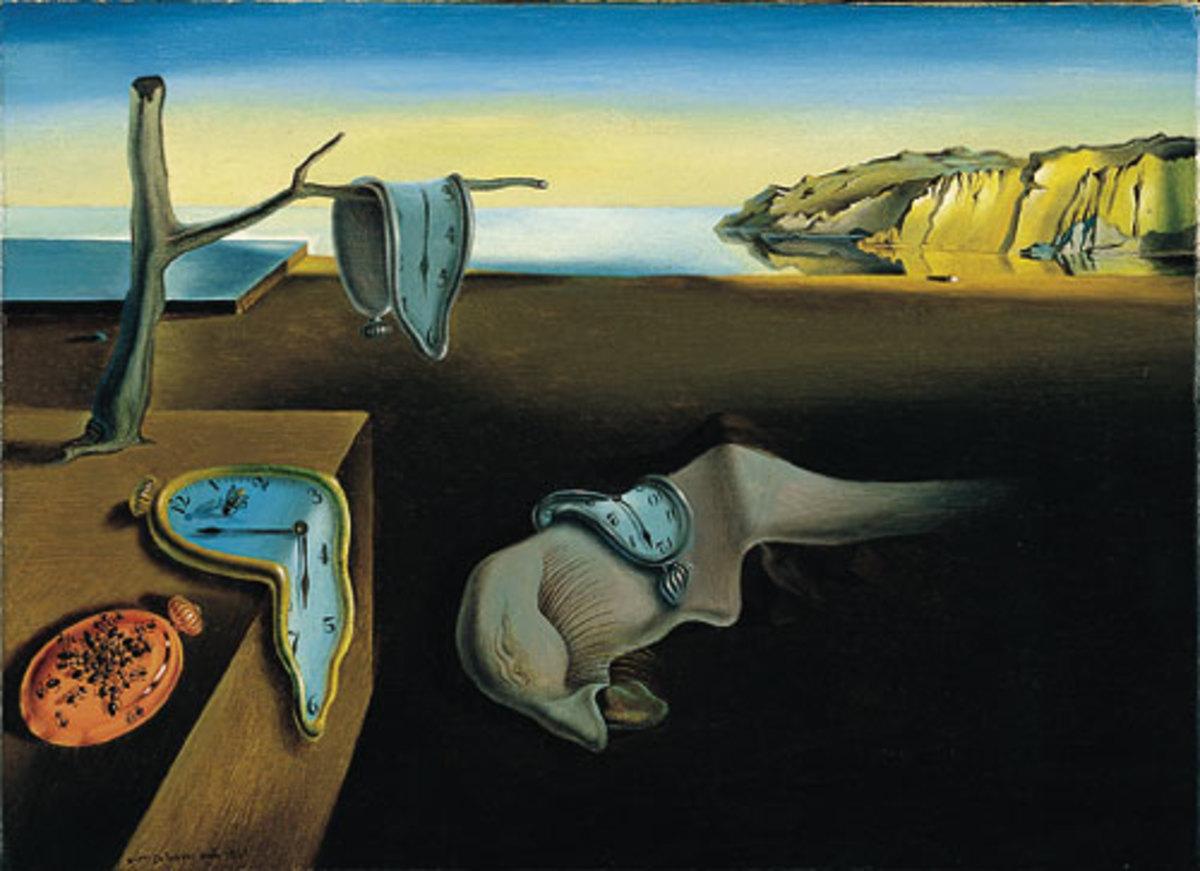 Salvatore Dali -- The Persistence of Memory
