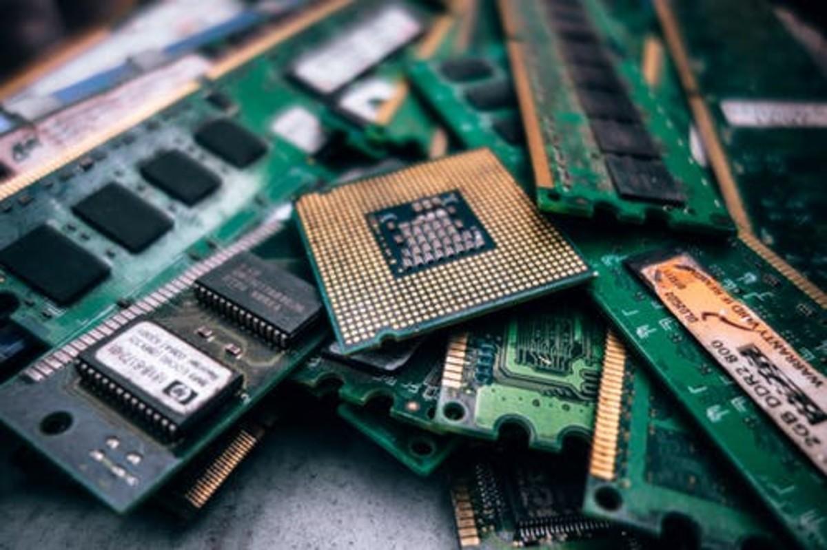 RAMs and CPU